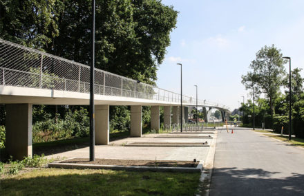 The Parkbos cycling bridges are inaugurated… and change their name