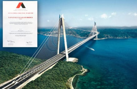 The Yavuz Sultan Selim Bridge wins IABSE Outstanding Structure Award 2018!