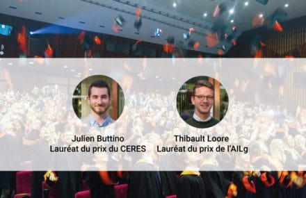 Nos jeunes diplômés récompensés !