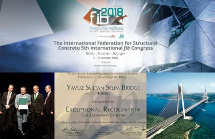FIB Awards : Exceptional Recognition for the 3d Bosphorus Bridge