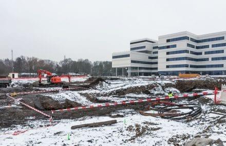 Un nouveau bâtiment pour les services du CHC MontLégia