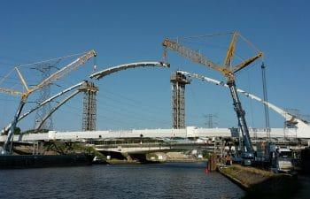 Renouvellement de 7 ponts sur le canal  Albert