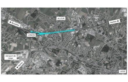 A3/E40 : début du chantier de mise à 4 voies entre Alleur et Loncin
