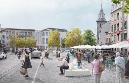 Démarrage du chantier Ville conviviale à Verviers