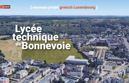 Nouveau lycée technique de Bonnevoie au Luxembourg