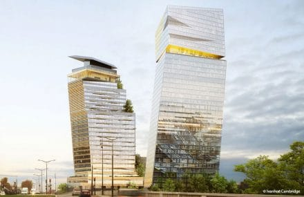 Duo Towers rise in Paris