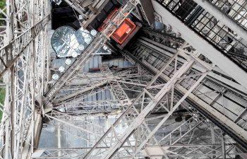 Eiffel Tower – renovation of the north elevator