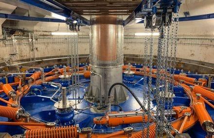 Deux nouvelles turbines écodurables à Monsin