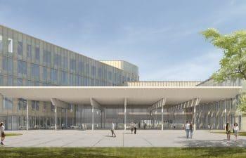 Vivalia – Nouvel Hôpital Centre-Sud à Houdemont
