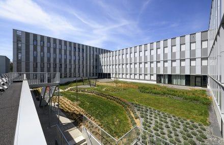 Le chantier du bâtiment de services du CHC a été réceptionné au MontLégia