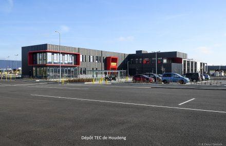 Feu vert pour le début des études du nouveau dépôt d'autobus à Frameries