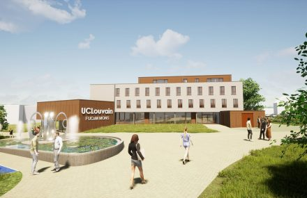 A new building on the UCLouvain FUCaM Mons site – competition won