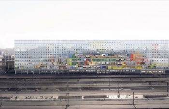 Nouveau siège de la SNCB/NMBS à la Gare du Midi