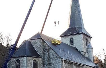 Nouveau marché pour la restauration de l'Eglise de Dieupart