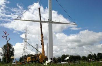 Pylons for the reconstruction of the 400kV Avelin-Gavrelle line