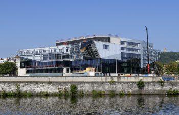 Knowledge hub of Liège Province on the site Bavière