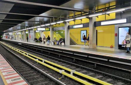 Fin de la rénovation de la station de Brouckère