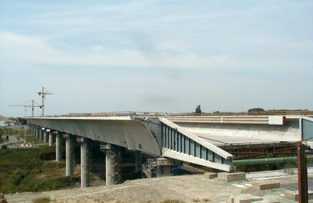 20 years ago, the Sart Canal Bridge was installed