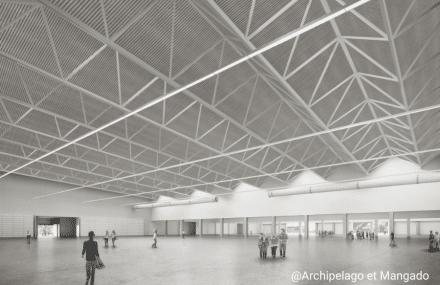 Le permis a été déposé pour les nouvelles Halles des Foires de Liège