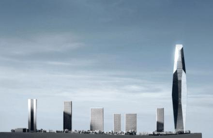 Le bureau greisch étudie la structure de la plus haute tour d'Afrique