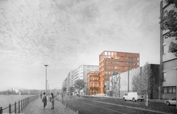Extension of the Charlemagne High School in Liege