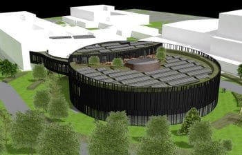 Uitbreiding van de EUROCONTROL-vestiging in Haren