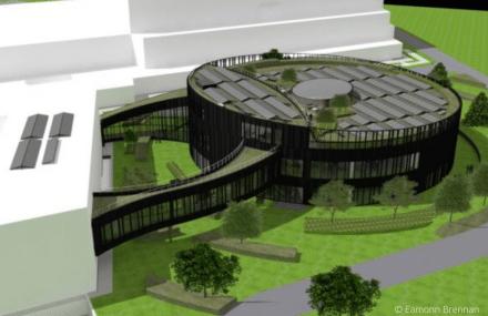 Première pierre pour le nouveau centre d'exploitation d'EUROCONTROL